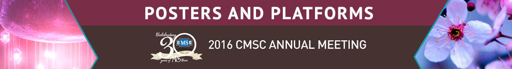 2016 CMSC Annual Meeting: http://www.mscare.org/2016